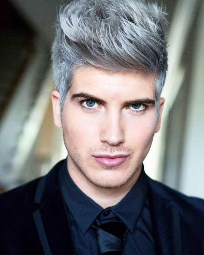 mens hair dye styles best 10 platinum hair for how to dye 7400