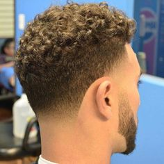 Taper Bald Blonde Hairstyle