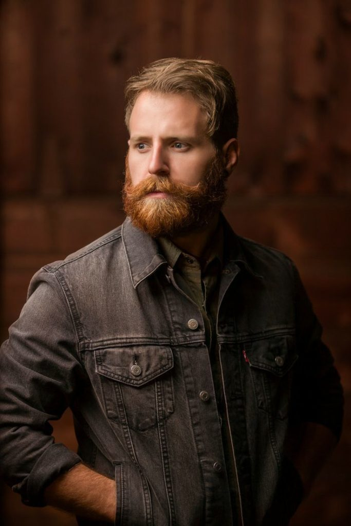 The Full Ginger Beard