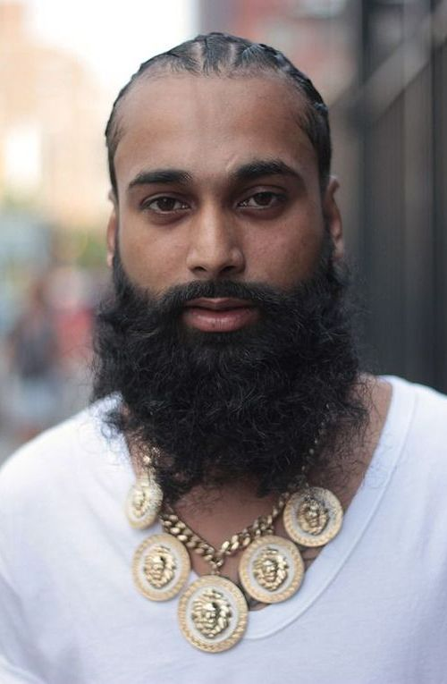 The Hipster Beard Style for Black Men