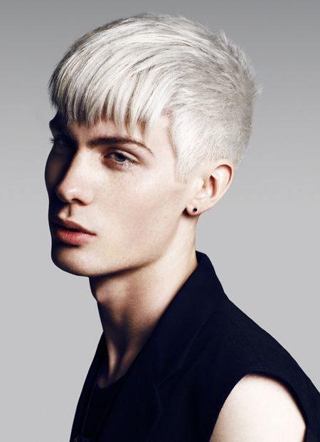 Straight Hair Platinum Bleached