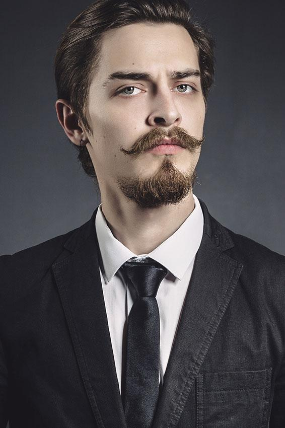 Van Dyke Goatee Beard Style