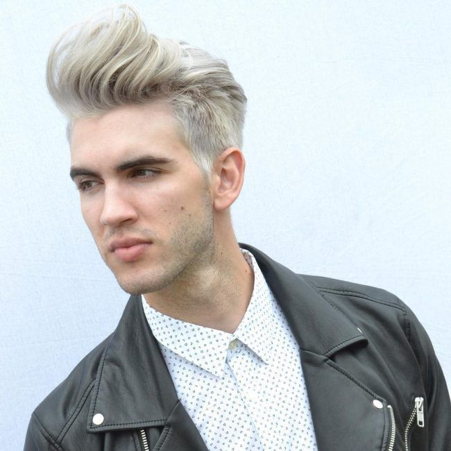 Best 10 Platinum Blonde Hair For Men How To Dye Bleach And Maintain The Platinum Blonde