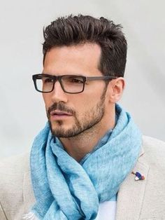 Short French Stubble Patchy Beard Style