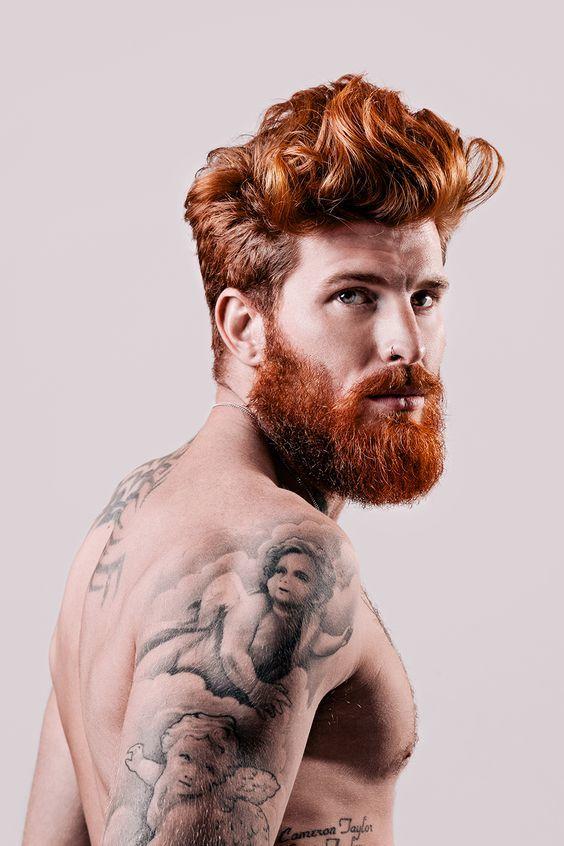 Coppery Beard Style