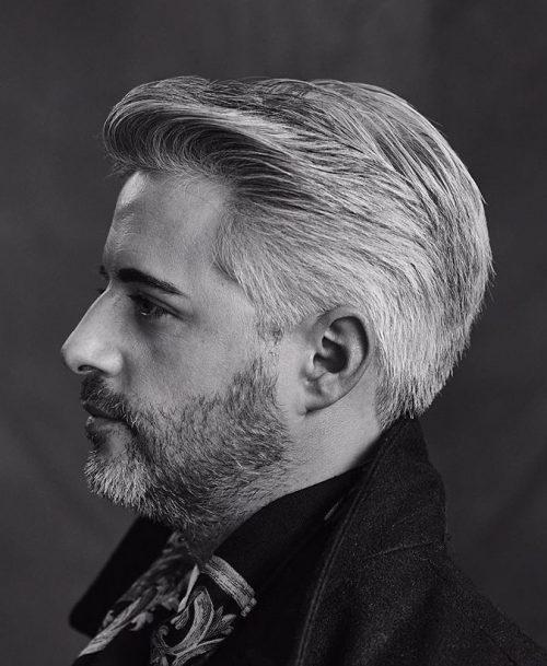 Inspirational Smooth Grey Haircut