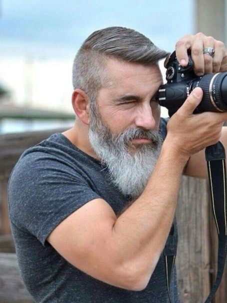 Picture Perfect Long Beard Style