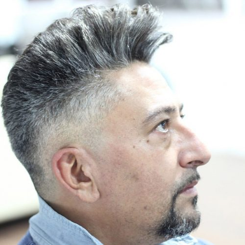 The Spiked Up Hairstyle