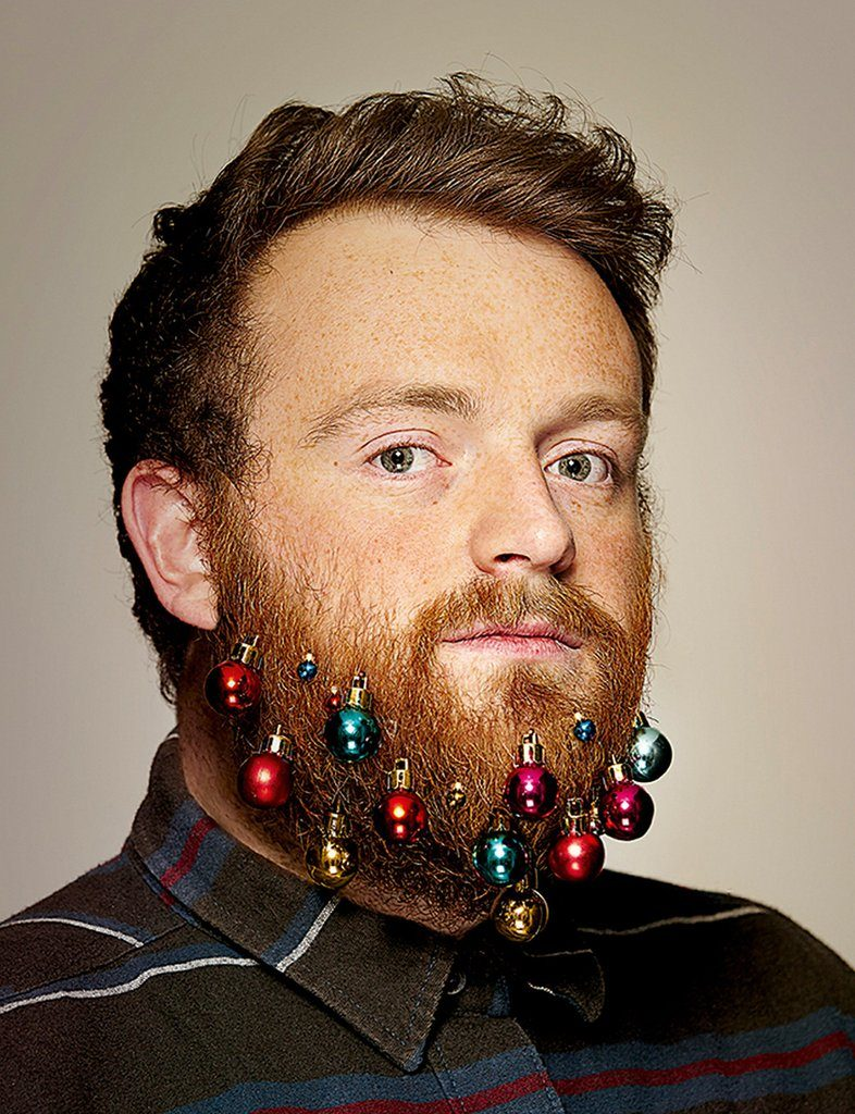 Ginger Beard Blinged-Out Style