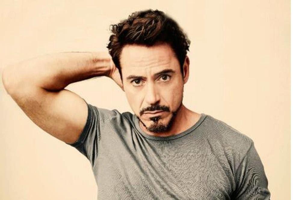 Tony Stark Van Dyke Beard Style