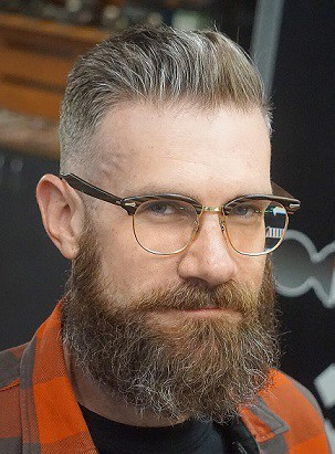 Hipster Thin Hair Style men