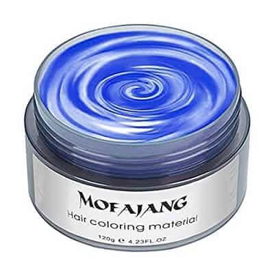 MOFAJANG Hair Coloring Dye Wax blue