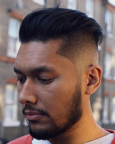 Slick Back Hairstyle