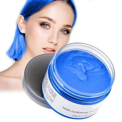 Temporary Blue Hair Wax