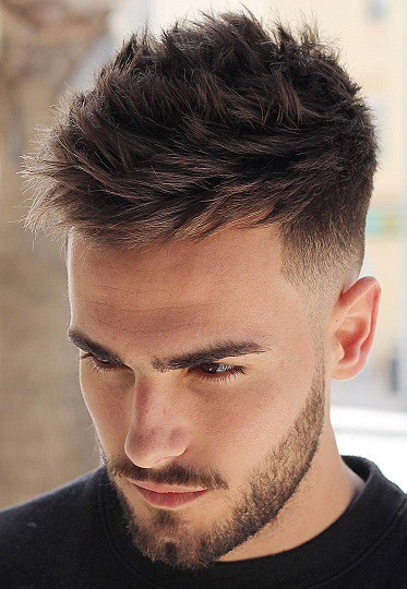 Textured and Short Hairstyle