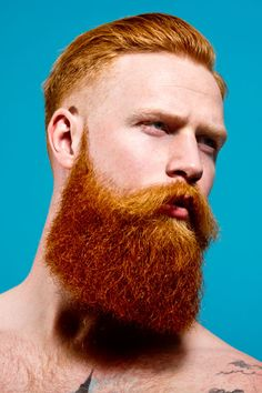 The Creepy Boss Ginger Beard Style