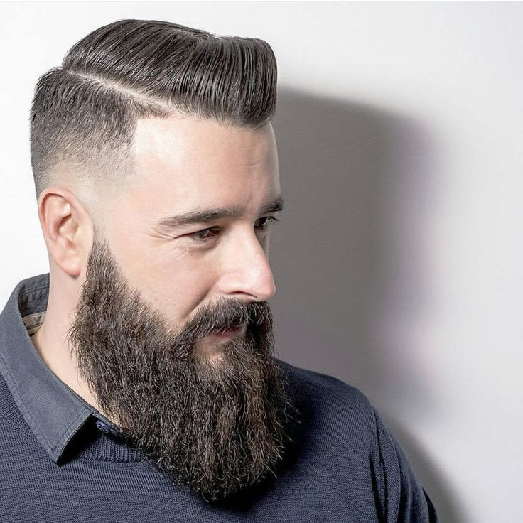 The Polished Long Beard Style