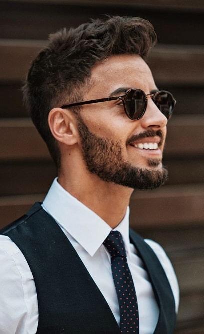 The Thin Strap Beard Style 04