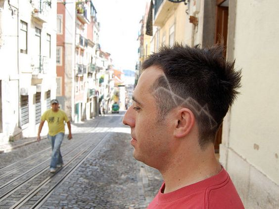 Undercut Sides Funky Haircut