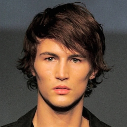 Side Bangs Haircut