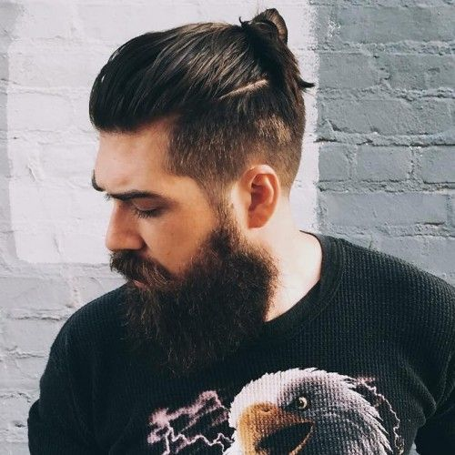 The Man Bun Undercut