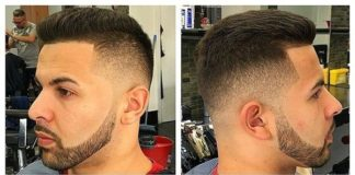 Line up - Sharp-Fade-Slicked-Back