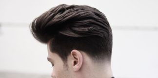 Tapered and Textured Hairstyle