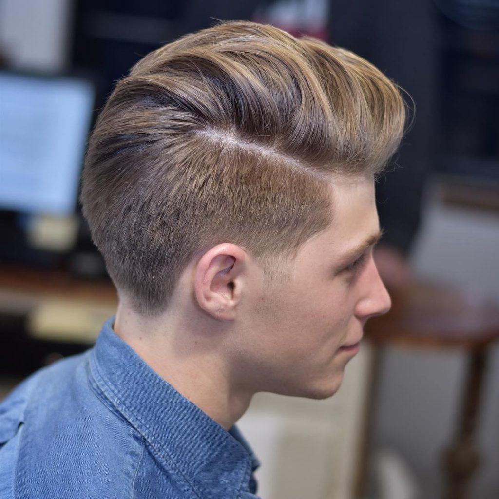 Thick Hair Pompadour