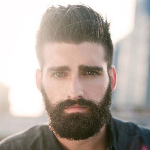 Men Hairstyles for Oval Face :: Hair Cut Guide | AtoZ Hairstyles