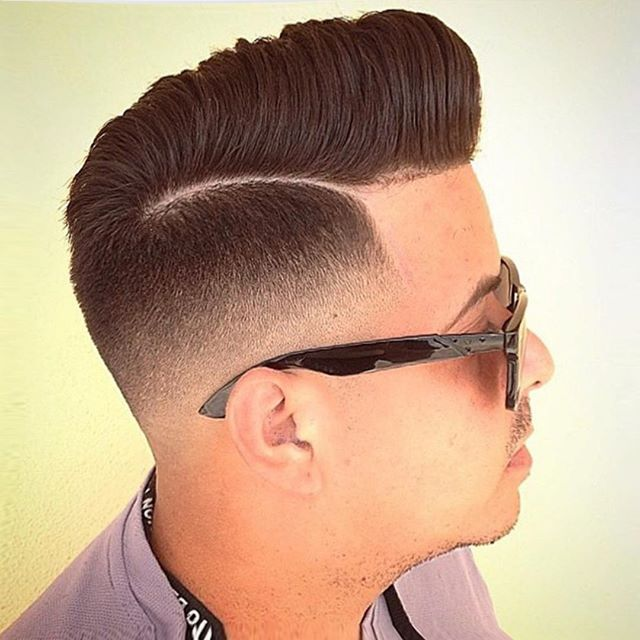 Extra High Shape Up Pompadour