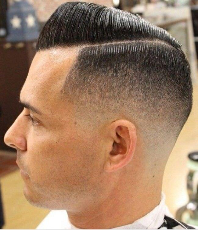 The Classic Shadow Fade Haircut