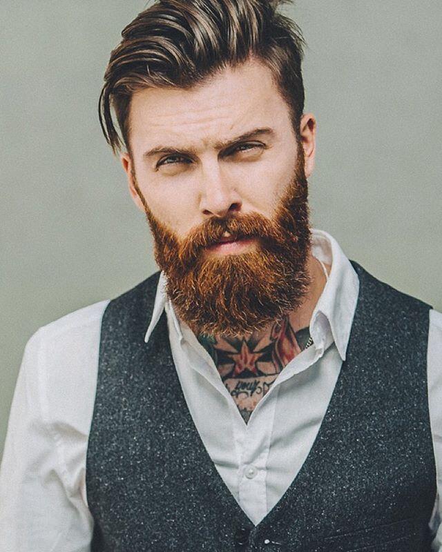 The Dapper Ginger Delightful Beard Style
