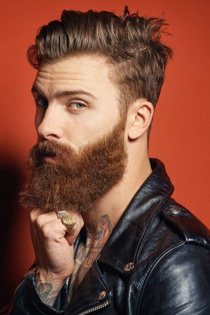 The Natural Red Beard Style