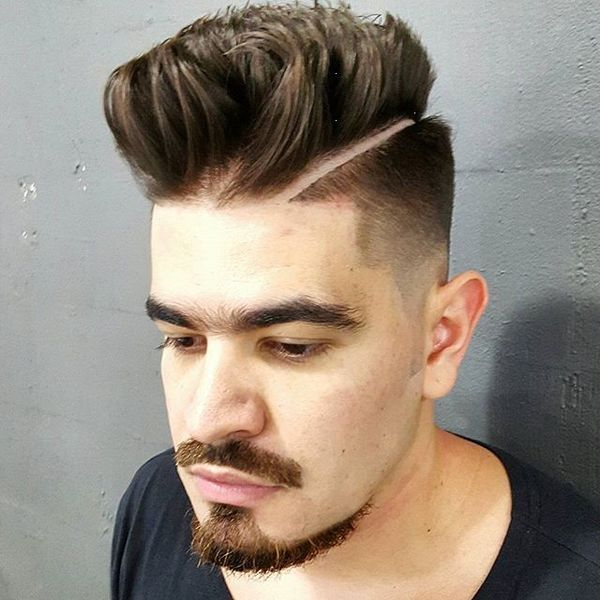 Undercut with Low Fade