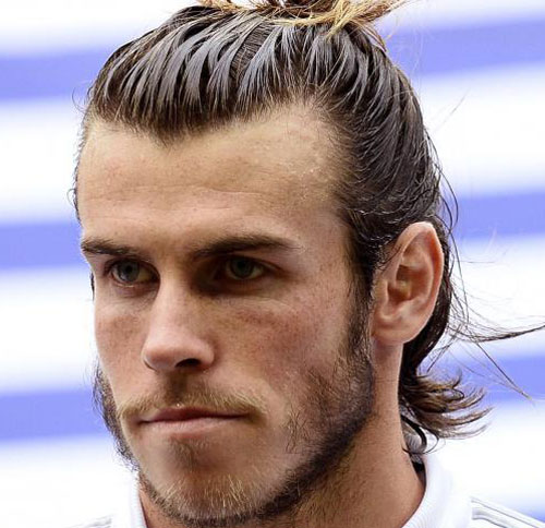 The Pony Tail Gareth Bale Style