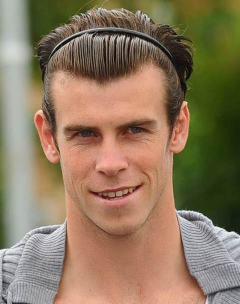 mens hair band styles how to get the gareth bale haircut atoz hairstyles 8433