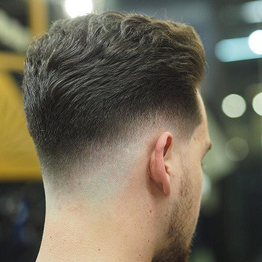 Back Shadow Fade Hairstyle