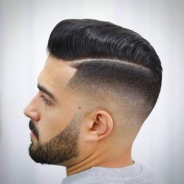 Low Shadow Fade Short Haircut