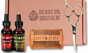 10 Beard Grooming Kit by Craft Beard - Beard grooming kits