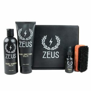 2 ZEUS Deluxe Beard Grooming Kit - Beard grooming kits
