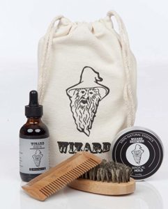 6 Wizard Beard Grooming Care Kit - Beard grooming kits