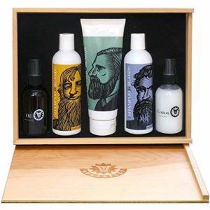 7 Beardsley In The Box Beard Care Set - Beard grooming kits