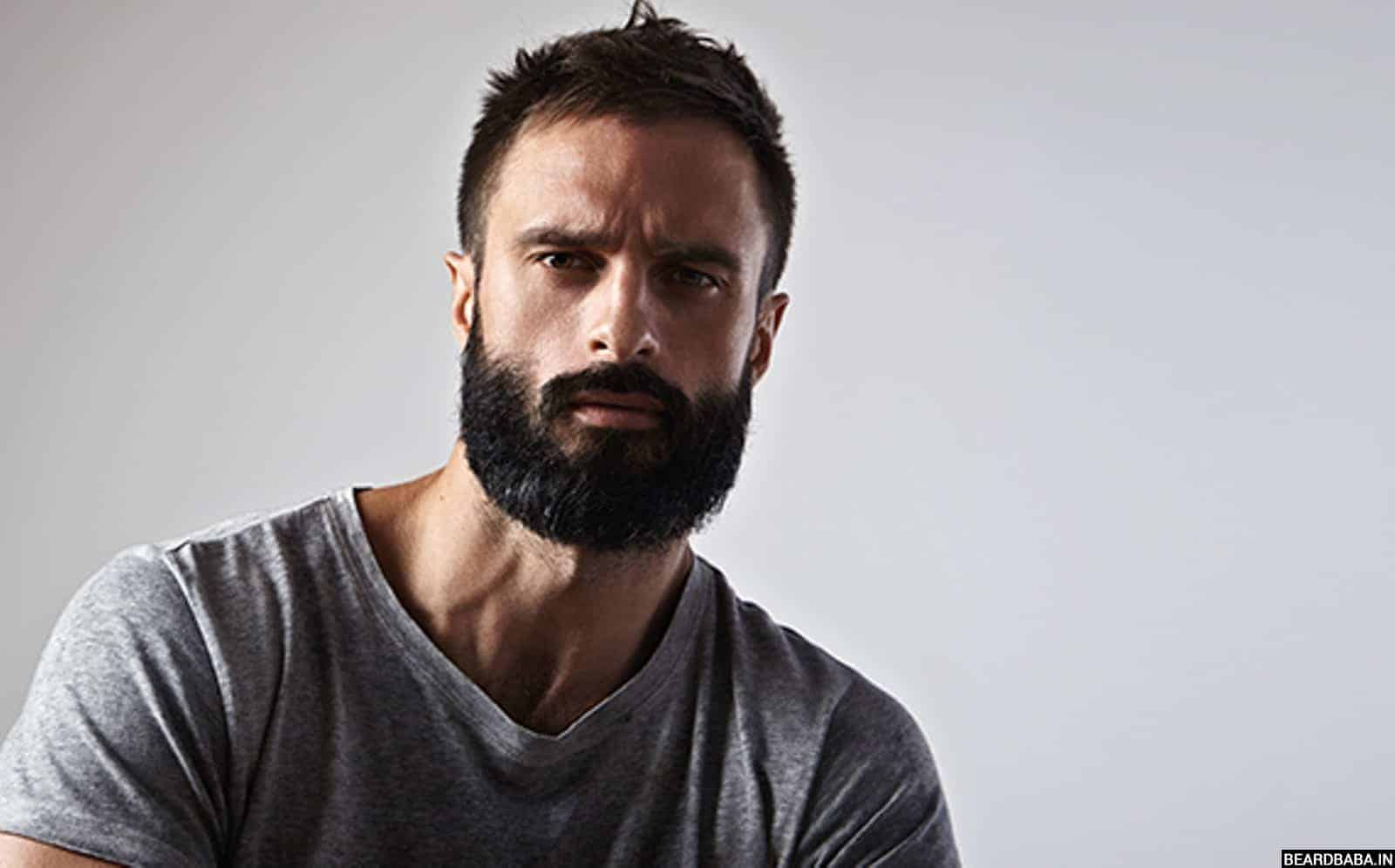 Beard Shape and Style for Round Faces: