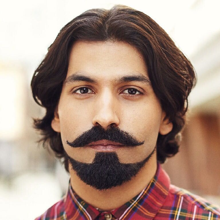 Beard Shape and Style for SquareFaces: