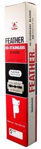 Feather-Razor-Blades-Hi-Stainless-Double-Edge
