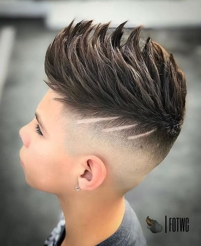 HIGH FADE WITH SPIKES