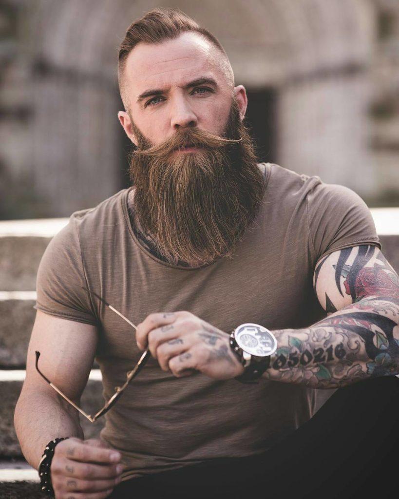Short Hair With Beard  20 Best Iconic Beard Styles for Men