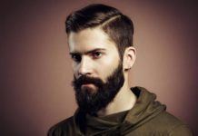 How to clean beard
