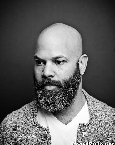 The bald man's beard
