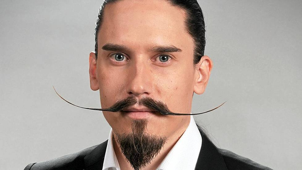 The Dali Style Moustache